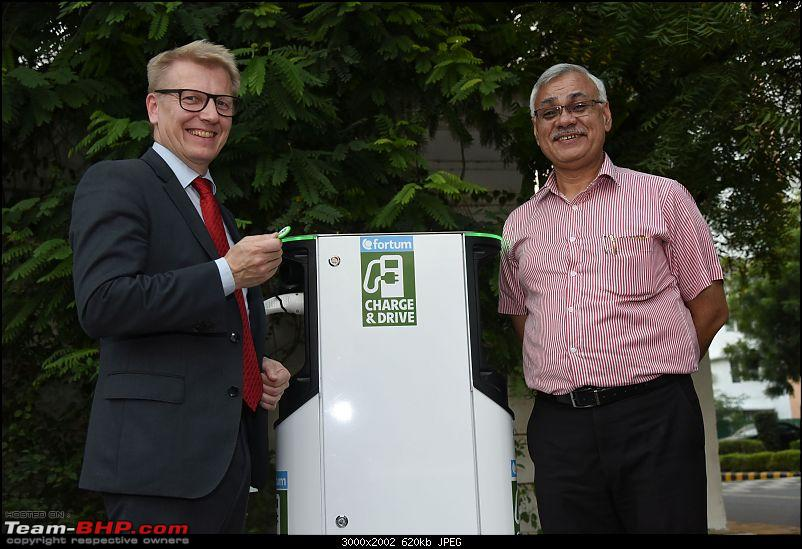 Fortum, NBCC unveil electric vehicle charging station in Delhi-fortum-nbcc.jpg
