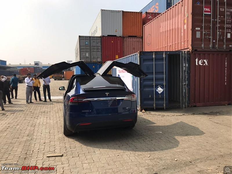 1st Tesla arrives in India - The Model X-img20171207wa0062.jpg