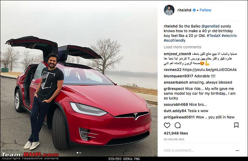 1st Tesla arrives in India - The Model X-screen-shot-20171220-08.06.27.png