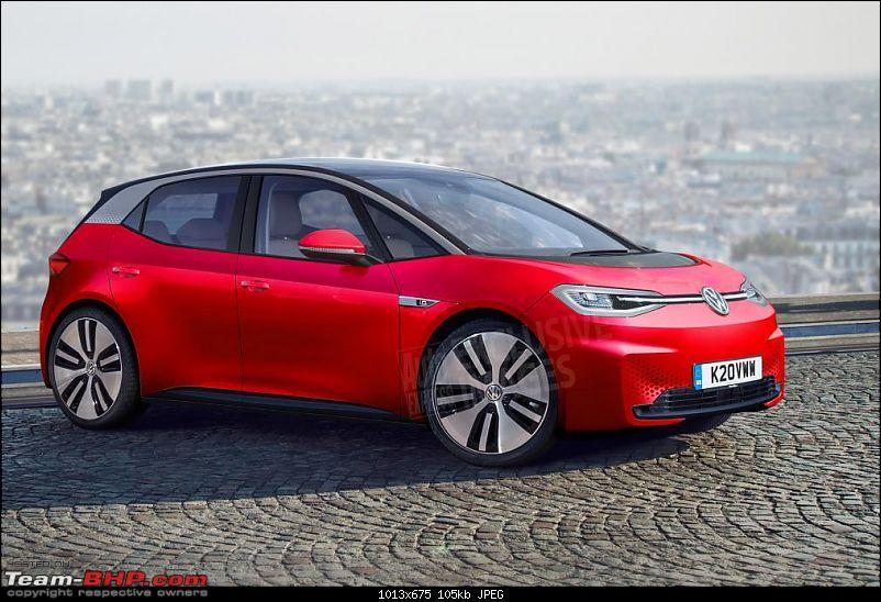 The Volkswagen ID.3 electric car with a 550 km range-front3_4.jpg