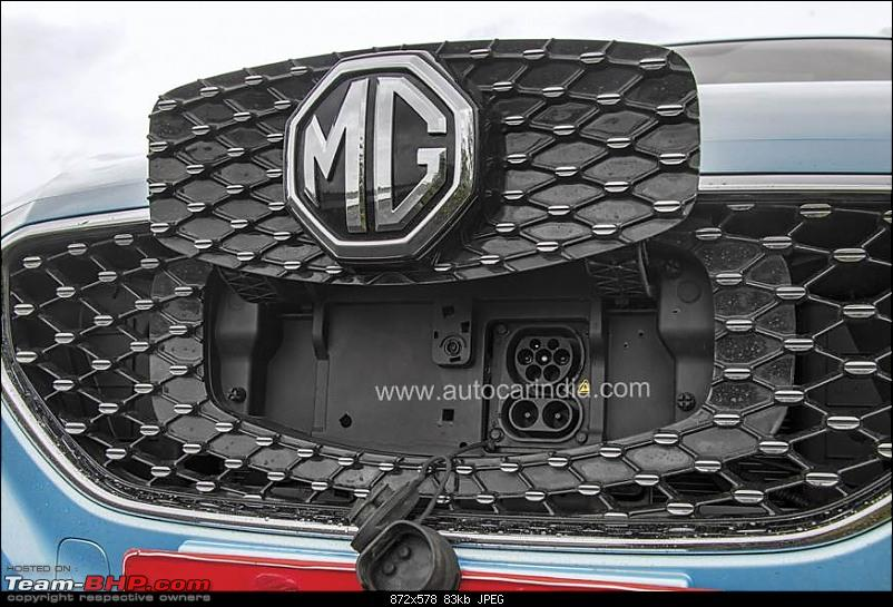 India-bound MG eZS electric SUV unveiled. Edit: Launched at 19.88 lakh-mgzsev15.jpg