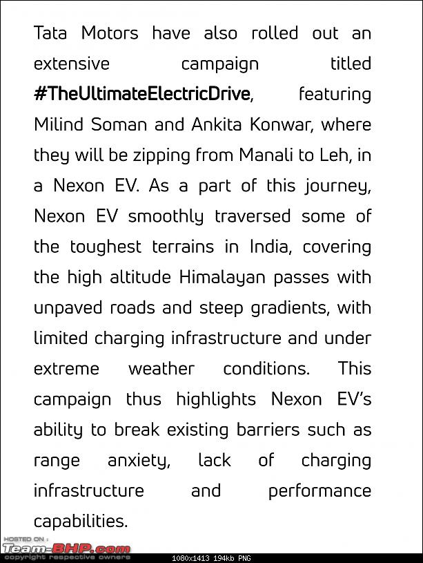 Tata builds a Nexon EV. EDIT: Launched at ₹13.99 lakhs-screenshot_201910031447292.png