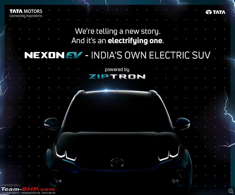 Tata builds a Nexon EV. EDIT: Launched at ₹13.99 lakhs-tata-nexon-ev.jpg