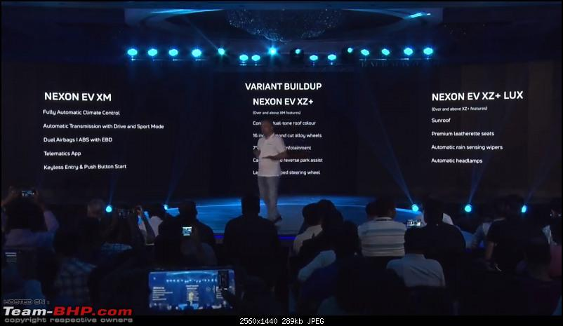 Tata builds a Nexon EV. EDIT: Launched at ₹13.99 lakhs-variats.jpg