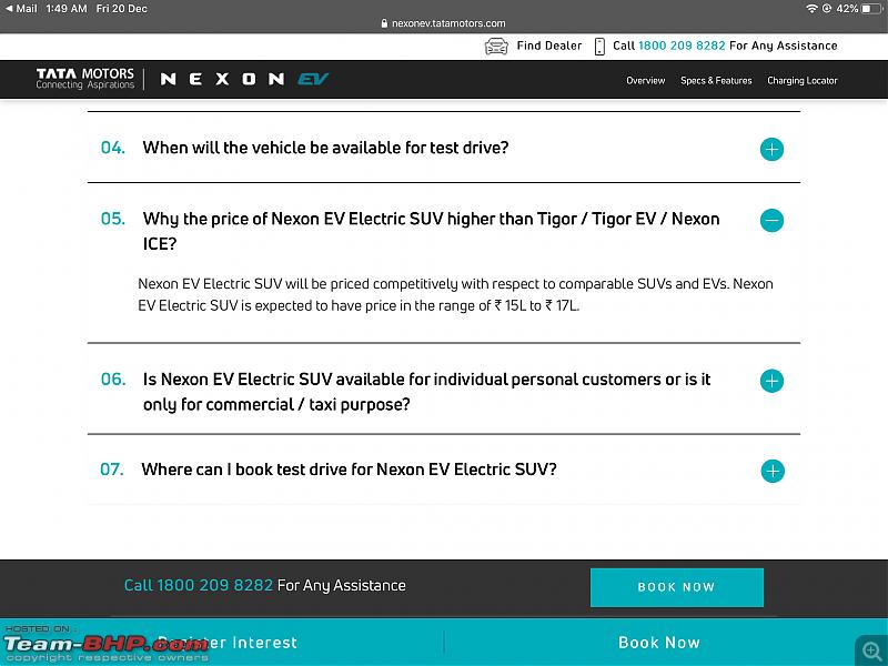 Tata builds a Nexon EV. EDIT: Launched at ₹13.99 lakhs-02d0189ac3c548aeb3d7972610ec0f43.png