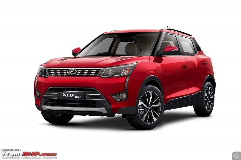 Mahindra to launch XUV300 EV to rival Kona EV-xuv300-front-34.jpg