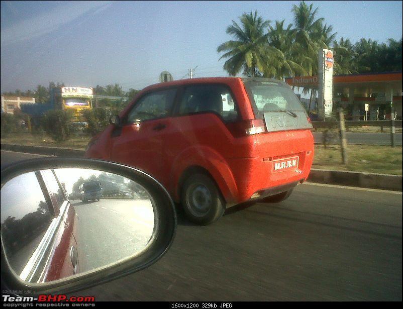 Scoop PICS : Maini Reva NXR caught testing in Bangalore!-img01012201101060900.jpg