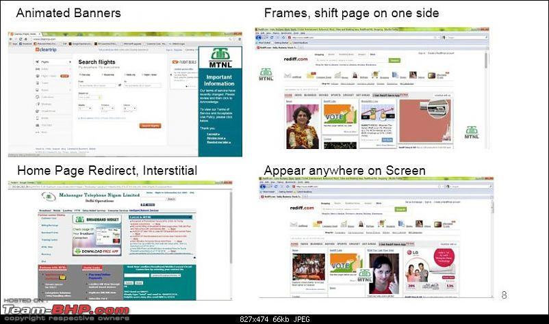 Shady Business: Airtel & MTNL injecting advertisements / js into websites you visit!-mtnlwifiadtypes.jpg
