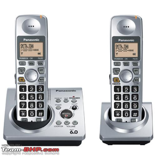 Digital cordless phone for home use - Team-BHP
