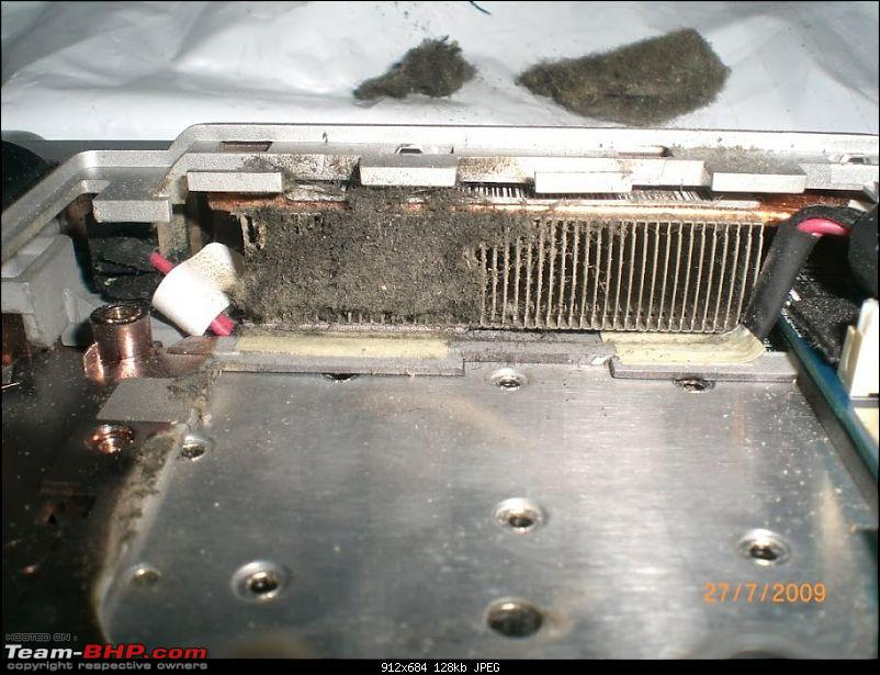 Laptop performance enhancement by cleaning air cooled network (Heat sink)-cimg0490.jpg