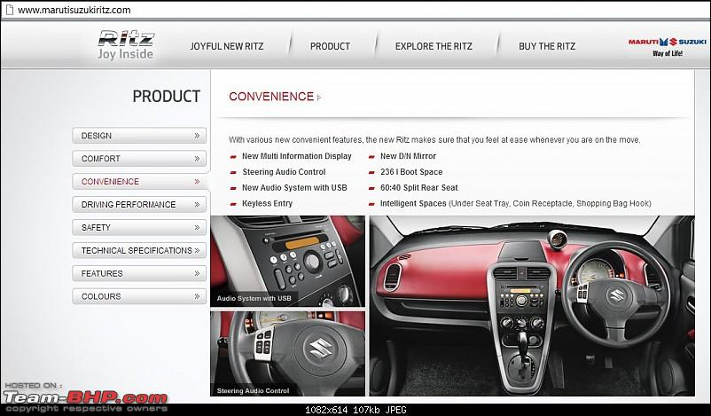 Maruti Suzuki Ritz now available with Automatic Transmission on the Vxi variant-ritz-2.jpg
