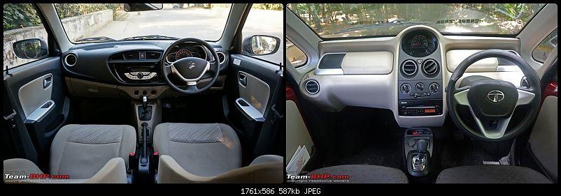 Budget Automatic War: Tata Nano vs Maruti Alto vs Maruti Celerio-dashboard.jpg