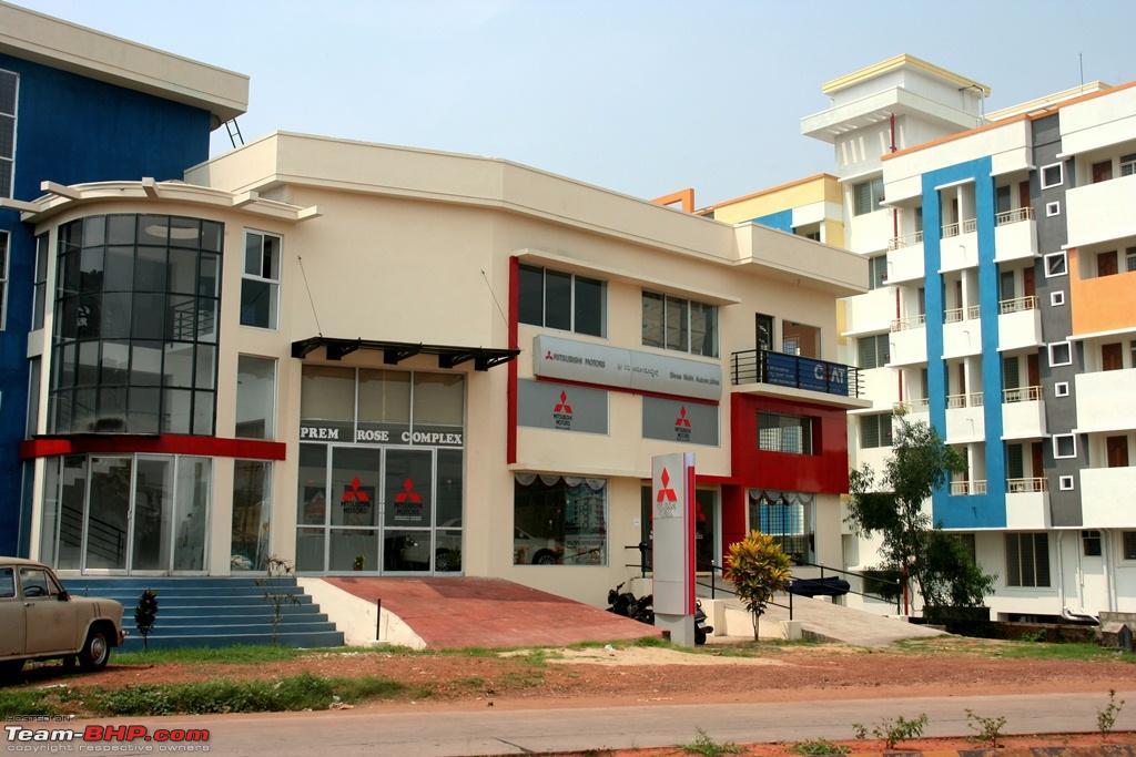 New Mitsubishi Dealership In Mangalore Shreenidhi Automobiles - Mitsubishi dealer ship