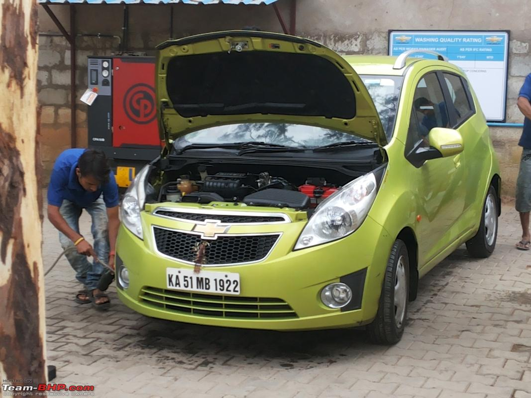 Kropex Chevrolet Service Center Marathahalli Bangalore Team Bhp