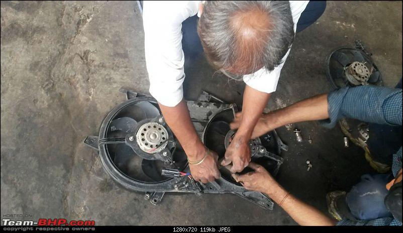 Tata Authorised Service Center - Narain Singh & Sons (Jahangirpuri, New Delhi)-new-fan-being-fitted.jpg