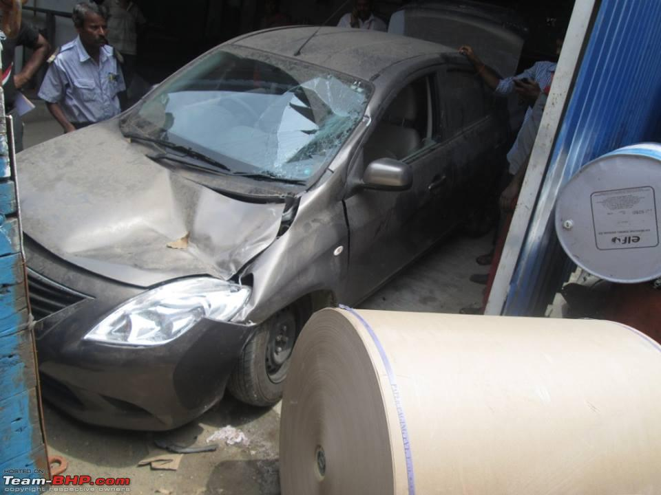 Avenue Nissan, Chennai damages 6-month old Sunny sent for service ...
