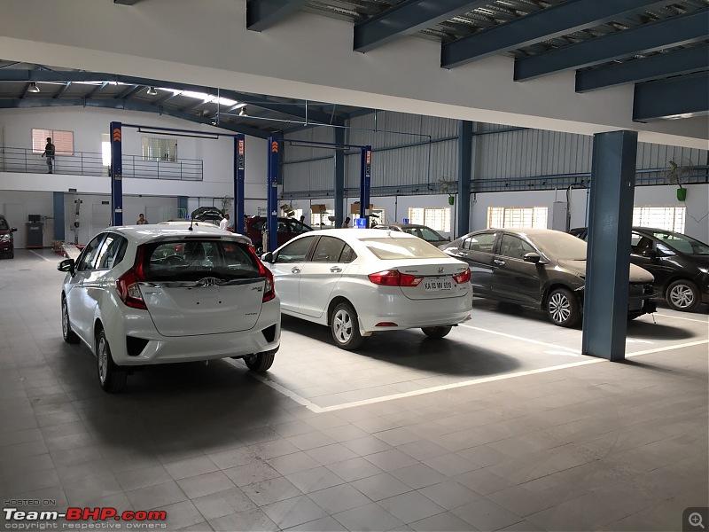 A Pleasant Service Experience Sapphire Honda Bangalore