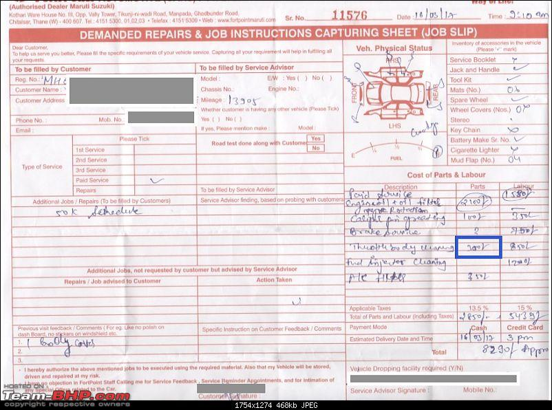 Substandard service & cheating by MASS, Fortpoint Automotive @ Thane-job-card.jpg