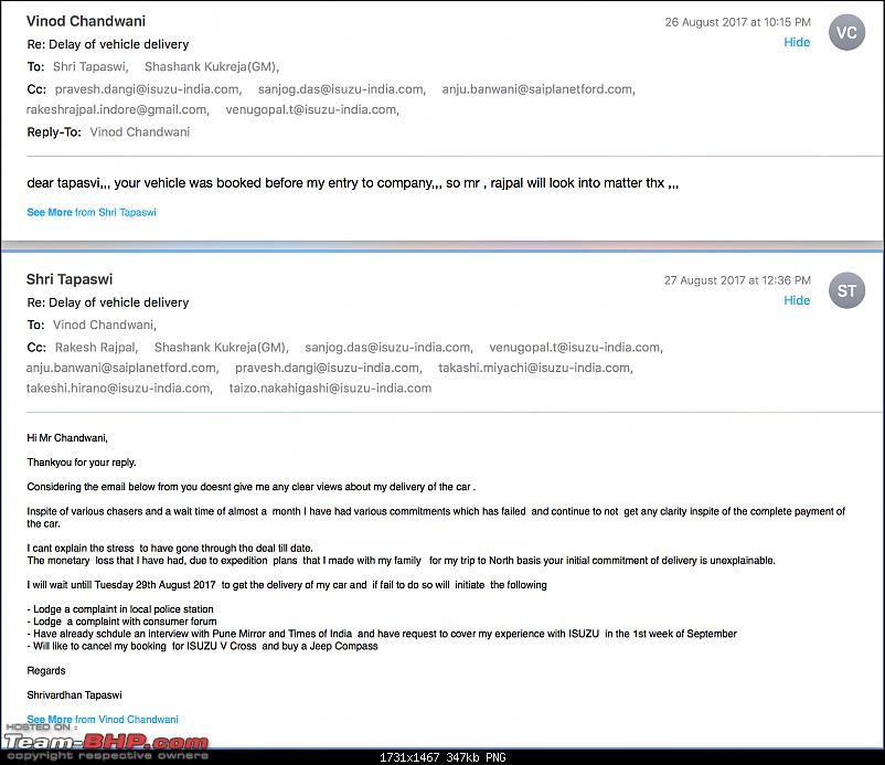 Paid 15 lakhs for an Isuzu, but dealer shuts down. EDIT: Owner finally gets his V-Cross-email-dealer-1.png
