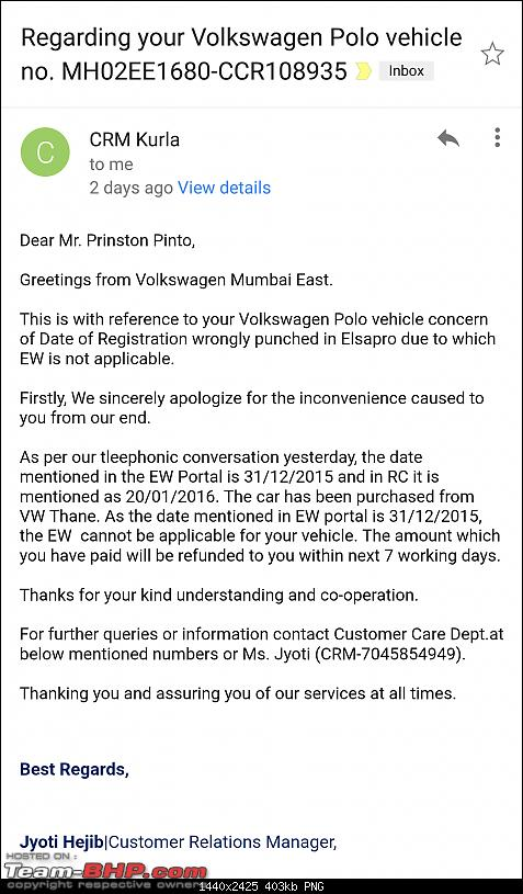Unable to get extended warranty as VW & its dealer have different sale dates. EDIT: Resolved-capture_201801151714511.png
