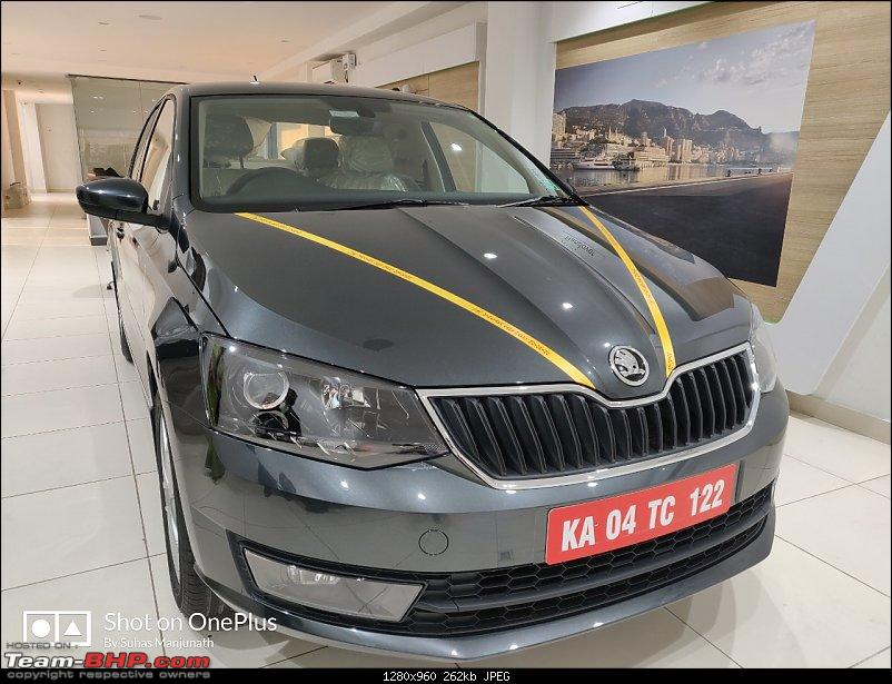 Vinayak Skoda sells fake Rapid Black edition. EDIT: Replaced with a new car-img20190331wa0013.jpg