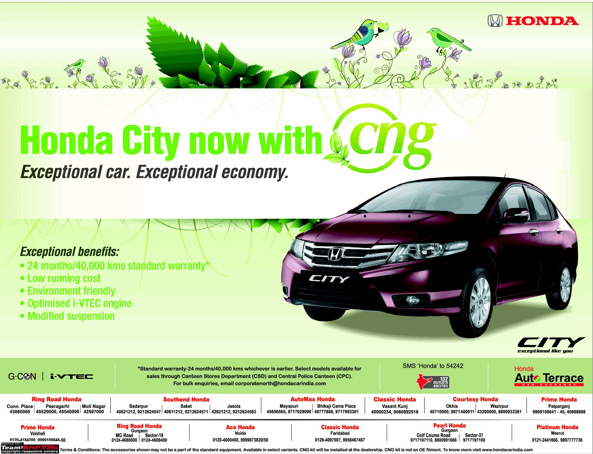 Honda City CNG To Be Launched In October 2012 EDIT