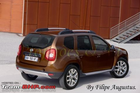 nissan 39 s duster based suv the terrano full pics are out team bhp. Black Bedroom Furniture Sets. Home Design Ideas
