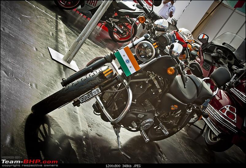 Report & Pics : 2012 Autocar Performance Show, Mumbai-005_harley.jpg