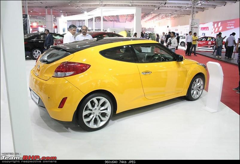 Report & Pics : 2012 Autocar Performance Show, Mumbai-hyundai-veloster-side.jpg
