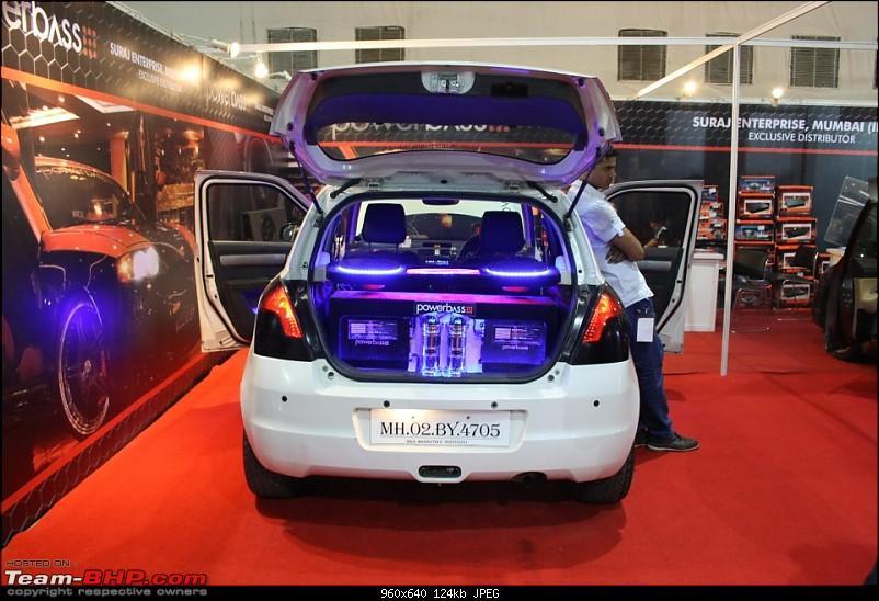 Report & Pics : 2012 Autocar Performance Show, Mumbai-power-bass-swift.jpg
