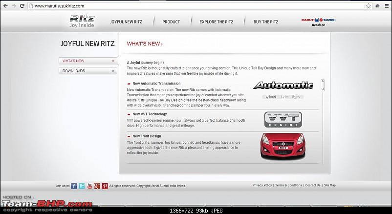 Ritz AT unveiled on Maruti website-ritz-.jpg