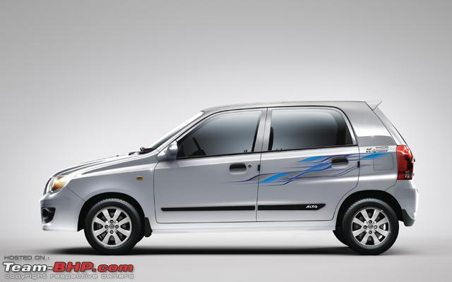 Maruti Launches A Special Limited Edition Of The Alto K Named - Graphics for alto car
