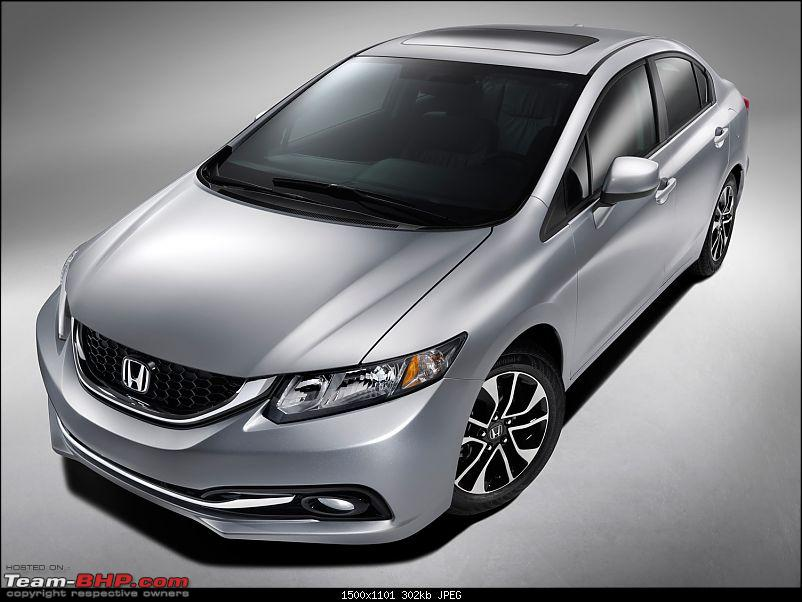 Honda rumored to bring the 9th Gen Civic to India-2013hondacivicexlnavisedanfrontview.jpg