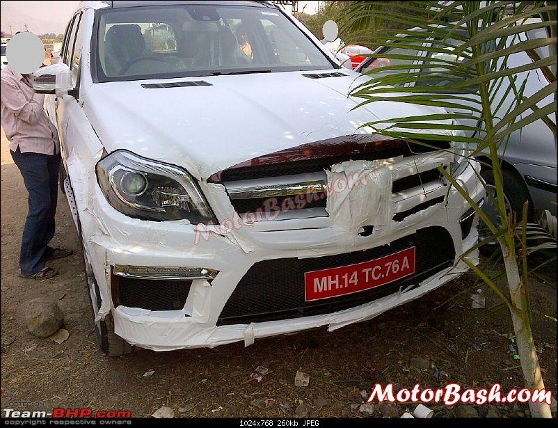 2013 Merc GL-Class caught testing in India-mercedesgl350indiafront.jpg