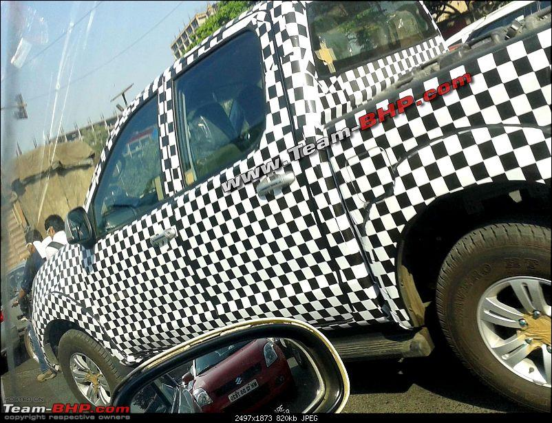 SCOOP Pics! Chinese Foton Tunland (Pick-Up) spotted testing near Pune-20130306_091345.jpg