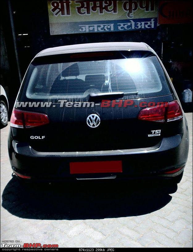 SCOOP : VW Golf Spotted Testing In Pune, India-2.jpg