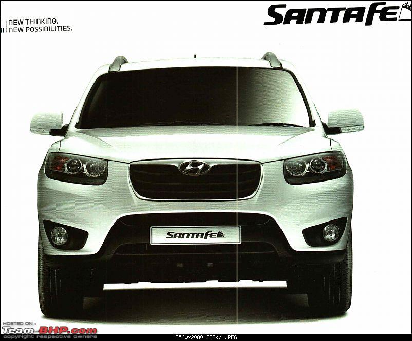 Scoop! 3rd-Gen Hyundai Santa Fe spotted testing in India. EDIT: Now launched.-front.jpg
