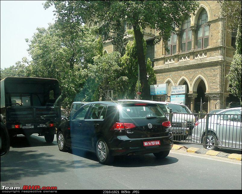SCOOP : VW Golf Spotted Testing In Pune, India-20130404005-resized.jpg