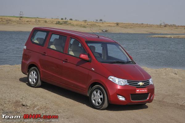 Chevrolet Sail Hatchback Chevrolet Mpv Enjoy Auto Expo 2012