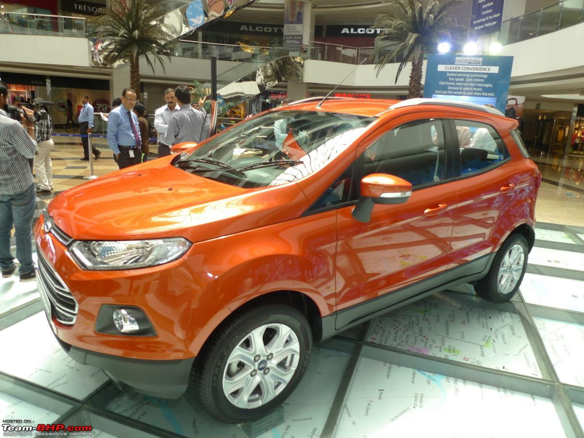 Ford ecosport revealed with pictures inside out