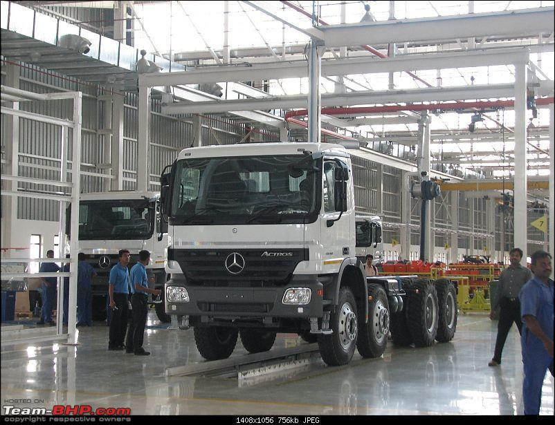 Mercedes Benz Manufacturing Plant In Pune