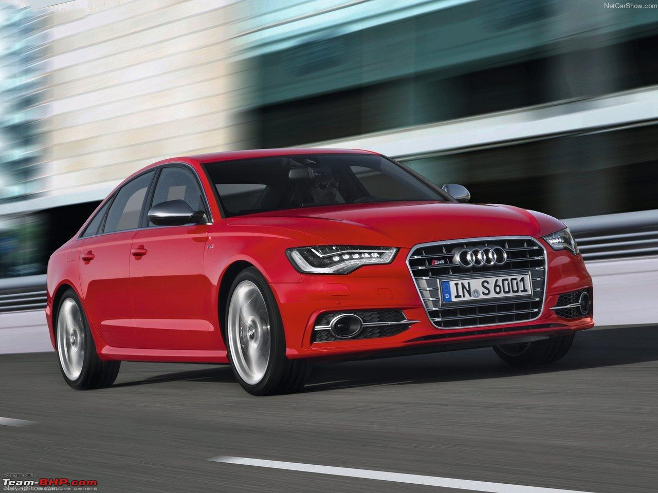 2013 Audi S6 To Be Launched In India Soon Team Bhp
