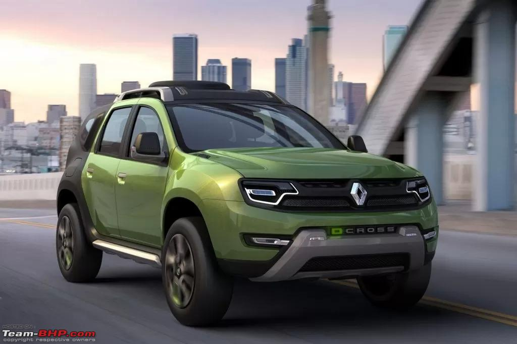 rumour renault duster to get extensive facelift this year team bhp. Black Bedroom Furniture Sets. Home Design Ideas