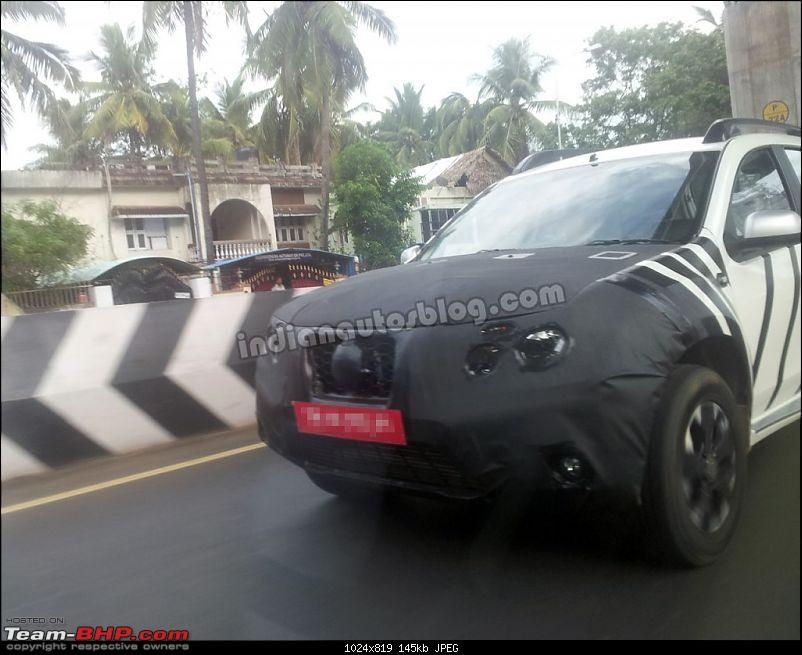 Nissan's Duster-based SUV, the Terrano: Full Pics are out!-nissanterranofrontendcamouflaged1024x819.jpg