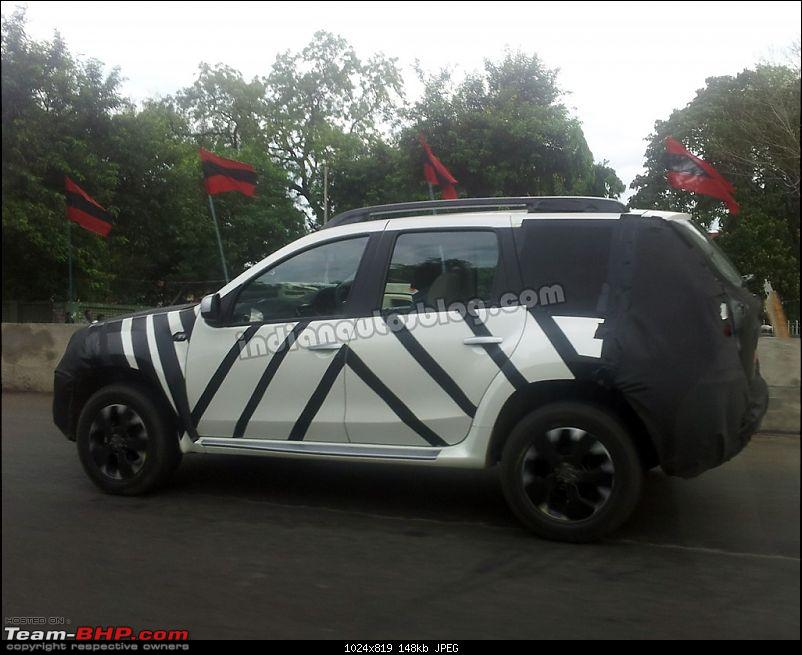 Nissan's Duster-based SUV, the Terrano: Full Pics are out!-nissanterranosideviewspyshot1024x819.jpg