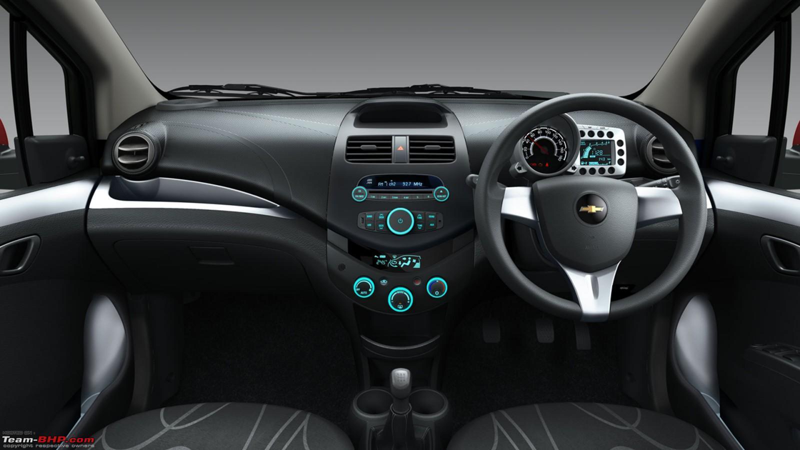 Chevrolet beat gets a mild refresh chevrolet beat dashboard jpg