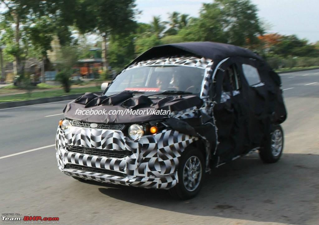 Scoop Pic Mahindra S S101 Mini Suv Spotted Page 5