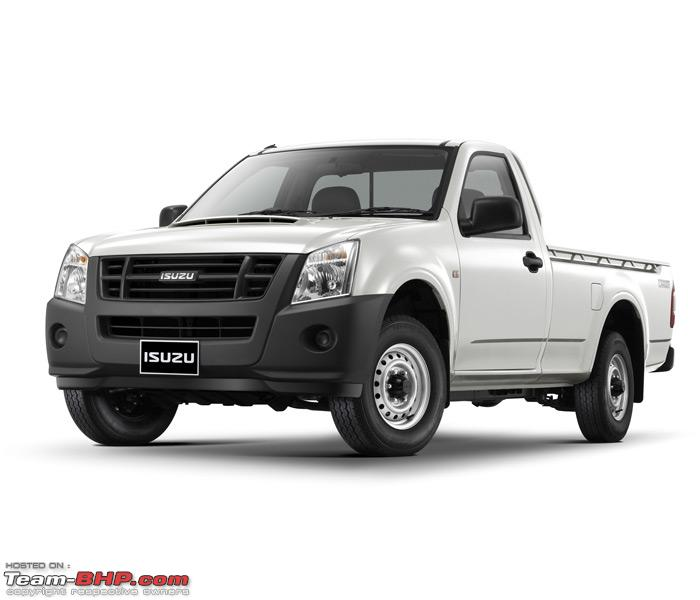 Name:  Isuzu DMax Pick Up Truck.jpg