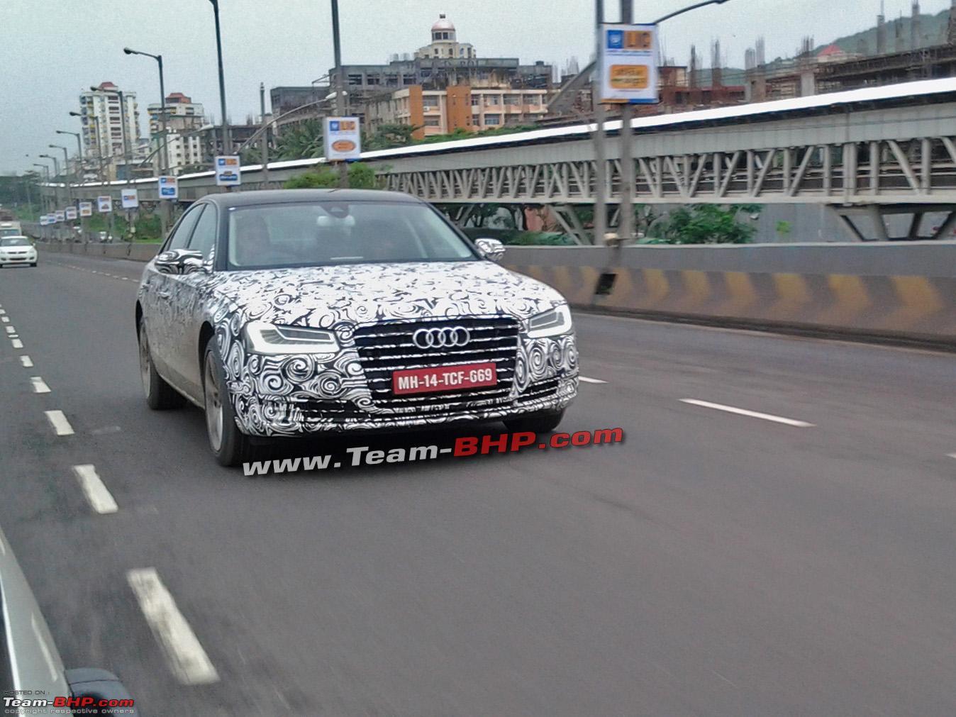 Team Bhp Scoop 2014 Audi A8 Facelift In India Team Bhp
