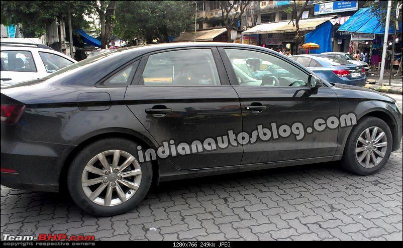 Audi A3 sedan caught testing EDIT: Launched at INR 22.95 lakhs-audia3sedanspiedinindia.jpg